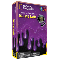 Discover with Dr. Cool National Geographic Slime Science Kit - Purple