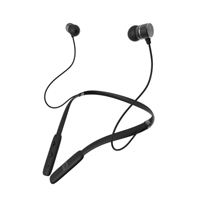 Zagg Flex Force Wireless Neckband Headphones - Black