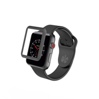 Zagg Glass Luxe Screen Protector for Apple Watch Series 3 38mm  - Space Gray