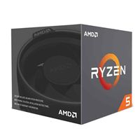 AMDRyzen 5 2600X 3.6GHz 6 Core AM4 Boxed Processor with Wraith...