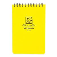 Rite In The Rain Top Spiral 4 X 6 Waterproof Paper Notebook - Yellow