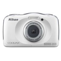 Nikon COOLPIX W100 13.2 Megapixel Digital Camera - White