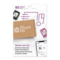 HP Instant Ink $5 Prepaid Card