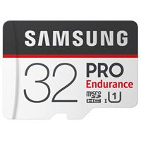 Samsung 32GB PRO Endurance microSDHC Class 10/ UHS-1 Flash Memory Card with Adapter