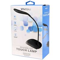 Vivitar Dimmable LED Touch Lamp