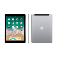 "Apple 9.7"" iPad 6 (128GB, Wi-Fi + Cellular, Space Gray"