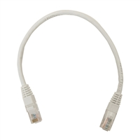 Inland CAT 5e Network Cable 1 ft. 5 Pack - White