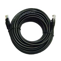 Inland Cat 5e Network Cable 25 ft. 5 Pack - Black