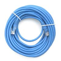 Inland 7 Ft. CAT 6 Stranded, 26 Gauge Ethernet Cables 5 Pack - Blue