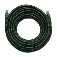 Inland Cat 6 Network Cable 25 ft. 5 Pack - Black