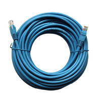 Inland 50 Ft. CAT 6 Stranded, 26 Gauge Ethernet Cable - Blue