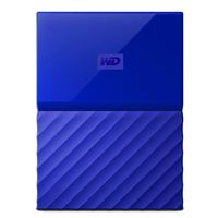 "WD My Passport 2TB USB 3.0 2.5"" Portable External Hard Drive - Blue"