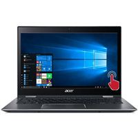"Acer Spin 5 SP513-52N-52PL 13.3"" 2-in-1 Laptop Computer - Gray"