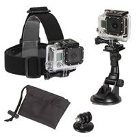 SUNPAK 3pc Action Camera Accessory Kit