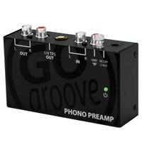 Accessory Power GOgroove Ultra Compact Phono Turntable Preamp (Preamplifier) with 12 Volt AC Adapter