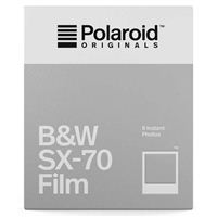 Polaroid B&W Film for SX-70 - 8 Exposures