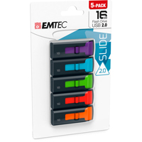 Emtec International 16GB USB2.0 C450 - 5 Pack