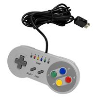 Interworks Unlimited The Edge Super Gamepad for SNES Mini, NES Mini & PC