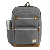 "Travelon Anti-Theft Heritage Large Backpack Fits Screens up to 15.6"" - Pewter"