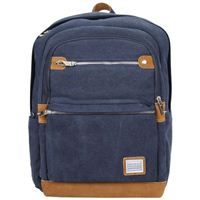 "Travelon Anti-Theft Heritage Large Backpack Fits Screens up to 15.6"" - Indigo"