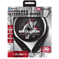 Ecko Unltd. Revolution Behind-the-Neck Bluetooth Headset - Black