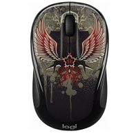 Logitech M325C Wireless Mouse - Black Taboo