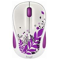 Logitech M325C Wireless Mouse - Purple Peace