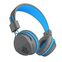 JLab Neon Bluetooth Wireless Headphones - Blue/Gray