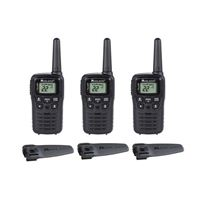 Midland T10 X-Talker 20-Mile 22-Channel 2-Way Radios - 3 Pack