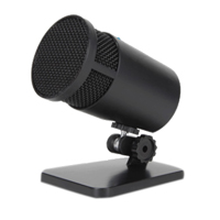 Cyber Acoustics CVL2001 Professional Series Shasta USB Condenser Microphone - Black