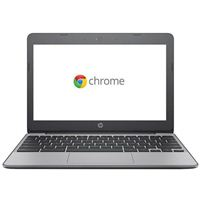 "HP Chromebook 11-v010nr 11.6"" Laptop Computer - Gray"