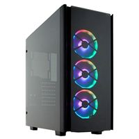 Corsair Obsidian 500D RGB SE Tempered Glass ATX Mid-Tower Computer...
