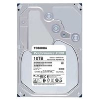 "Toshiba X300 10TB 7200RPM SATA III 6Gb/s 3.5"" Internal Hard Drive"