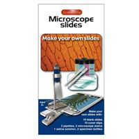 ScienceWiz Make Your Own Microscope Slides - 10 Pack