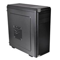 Photo - Thermaltake V100 ATX Mid-Tower Computer Case - Black