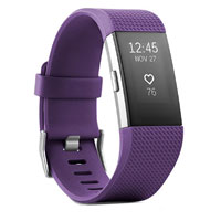 FitBit Charge 2 Activity Tracker Large - Plum