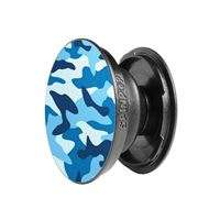 Spinpops Phone Grip Stand - Blue Camo