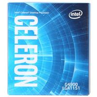 Intel Celeron G4900 Coffee Lake 3.1GHz Dual-Core LGA 1151 Boxed Processor