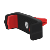 Aduro Grip Clip Air Vent Phone Mount - Black/Red