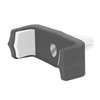 Aduro Grip Clip Air Vent Phone Mount - Black/ White