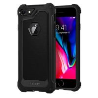 Spigen Rugged Armor Extra Designed for Apple iPhone 7 Case (2016) - Black