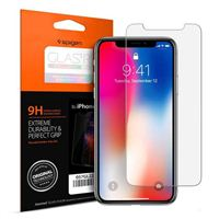 Spigen GLAS.tR SLIM Tempered Glass Screen Protector for iPhone X