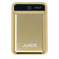 BayIt Home Automation Tech2 Juice 10,000mAh Portable Charger w/ Quick Charge Technology and Dual USB ports - Gold