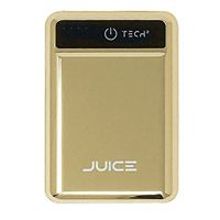 BayIt Home Automation Tech2 Juice 5,000mAh Portable Charger w/ Quick Charge Technology and Dual USB ports - Gold