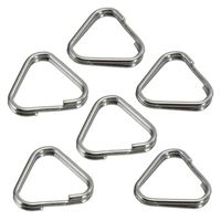 Dot Line Hama Split Rings, Triangular, 12mm, Pk of 6