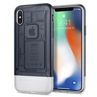 Spigen Classic C1 Case for iPhone X - Graphite