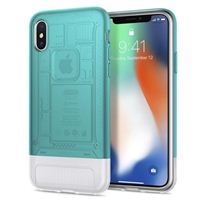 Spigen Classic C1 Case for iPhone X - Bondi Blue