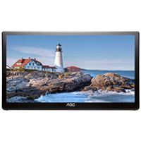 "AOC E1659FWUX 15.6"" Full HD 60Hz USB 3.0 Portable LED Monitor Refurbished"