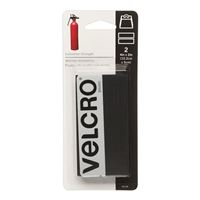 Velcro Industrial Strength Strips - Black