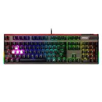 MSI Vigor GK80 RGB Mechanical Gaming Keyboard - Cherry MX Red